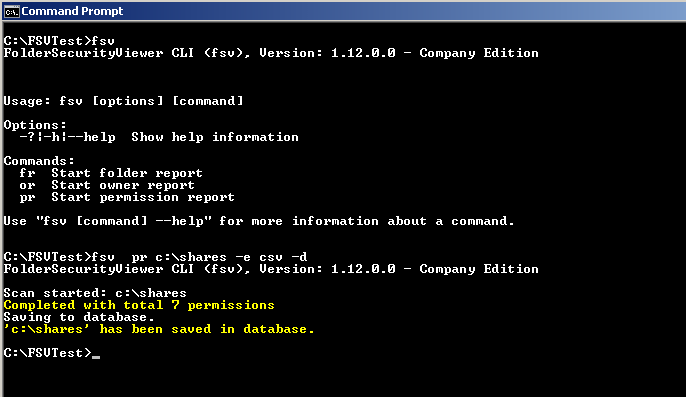 How to use the CLI